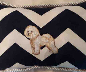 Why We Have The Online Auctions/ I'm Pleased To Meet You! Our Current Online Auction Ends Sunday, June 13./Pam Byron's Bichon Pillow!/ Bichon Foot Stool!/Concert Ukulele!/Hand Painted Slate W/ Bichons In Truck!